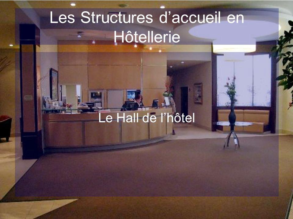 Les Structures d'accueil en Hôtellerie