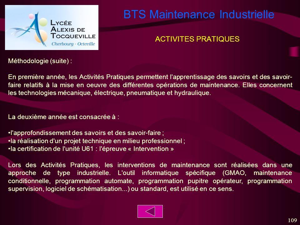 ACTIVITES PRATIQUES Méthodologie (suite) :