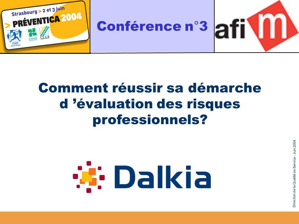 Comment réussir sa démarche d 'évaluation des risques professionnels