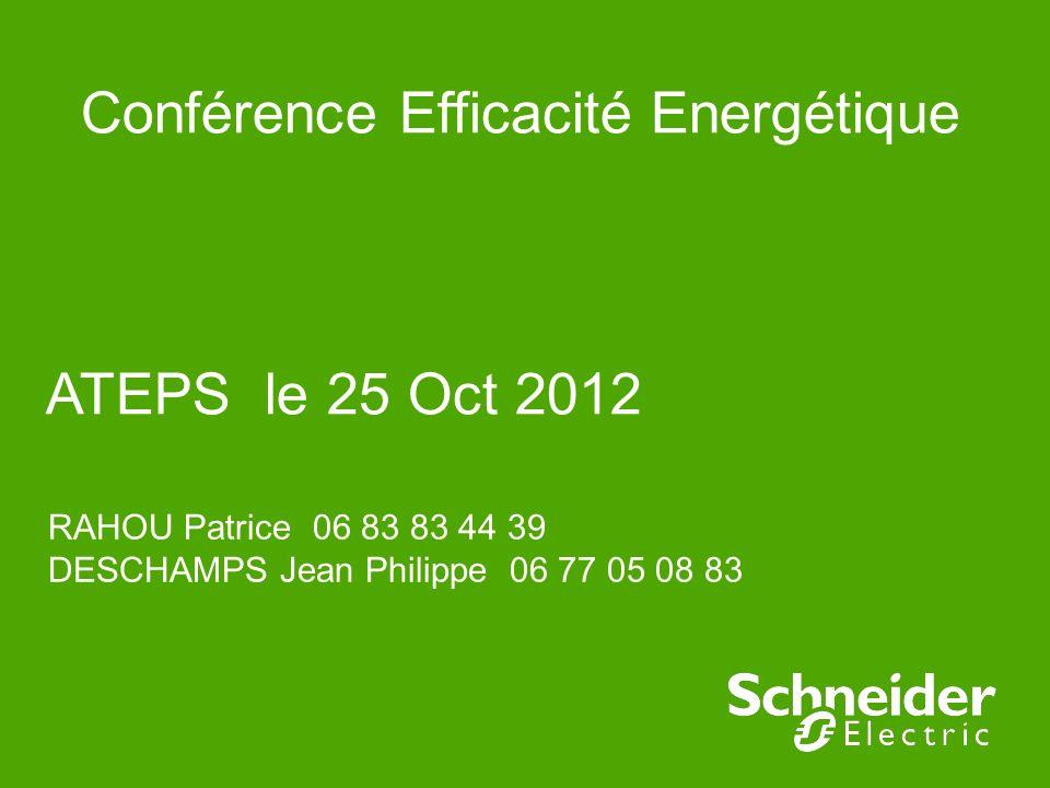 Conférence Efficacité Energétique