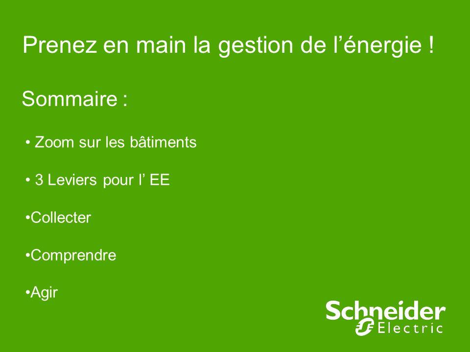 Prenez en main la gestion de l'énergie !