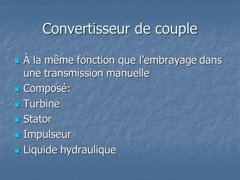 Convertisseur de couple