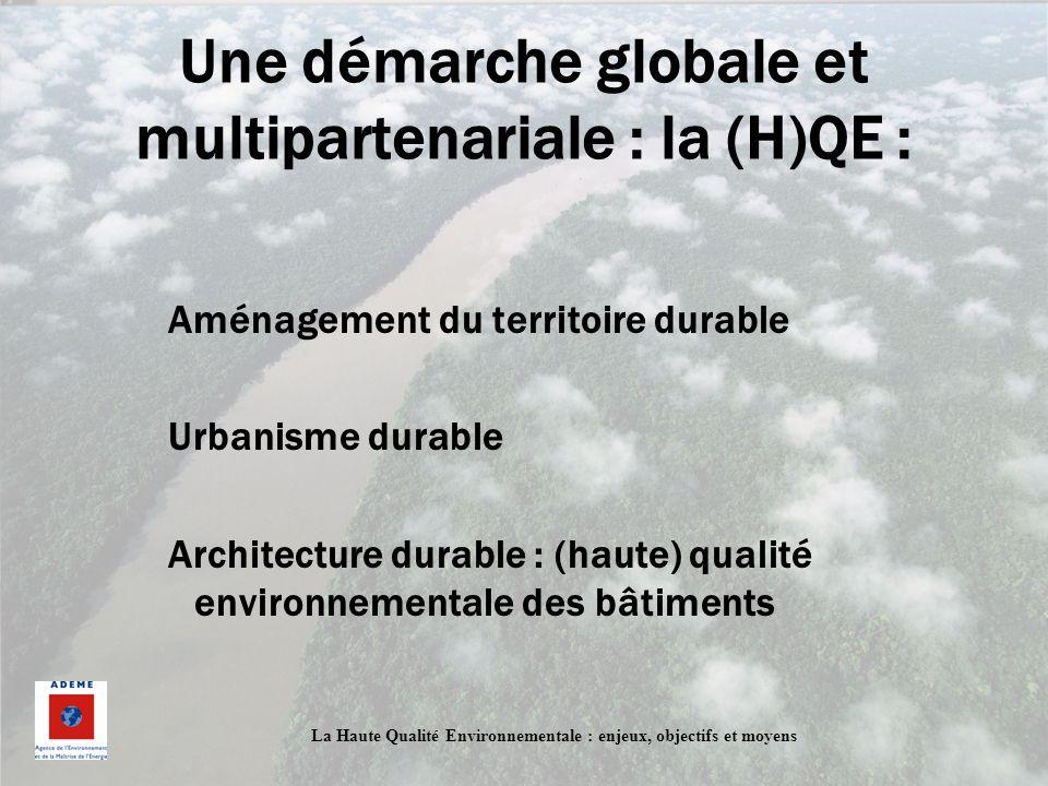 Une démarche globale et multipartenariale : la (H)QE :