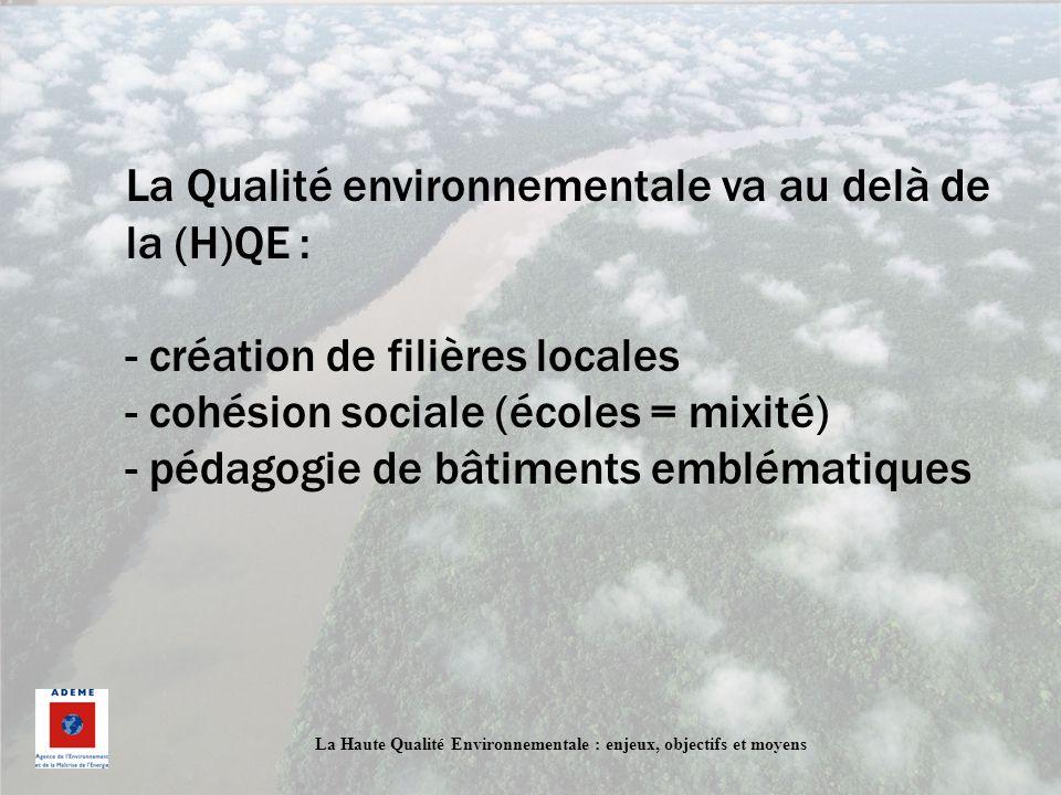 La Qualité environnementale va au delà de la (H)QE :