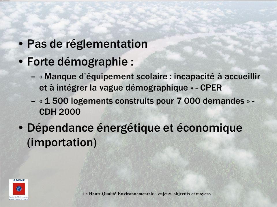 Dépendance énergétique et économique (importation)