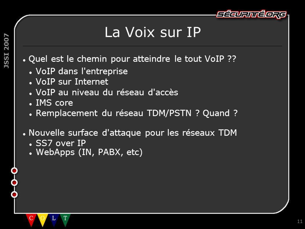 La Voix sur IP Quel est le chemin pour atteindre le tout VoIP