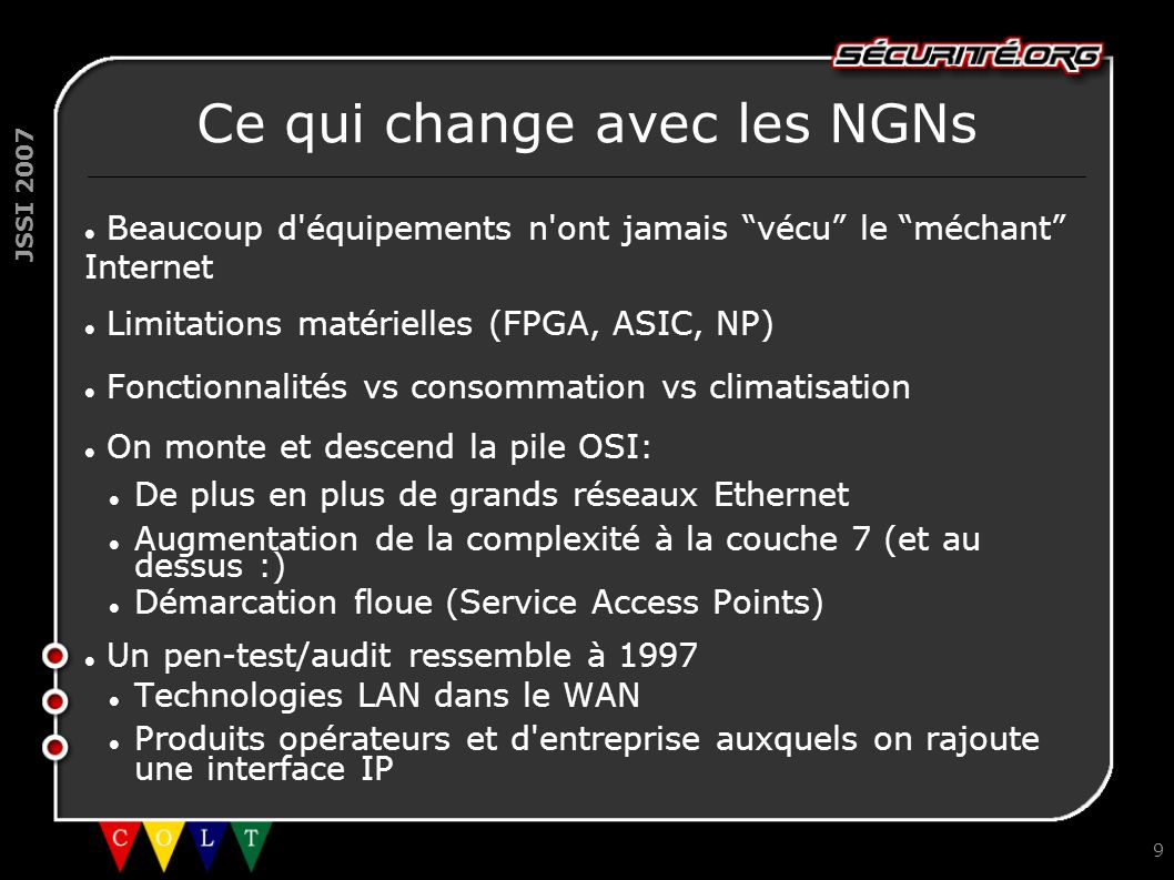 Ce qui change avec les NGNs