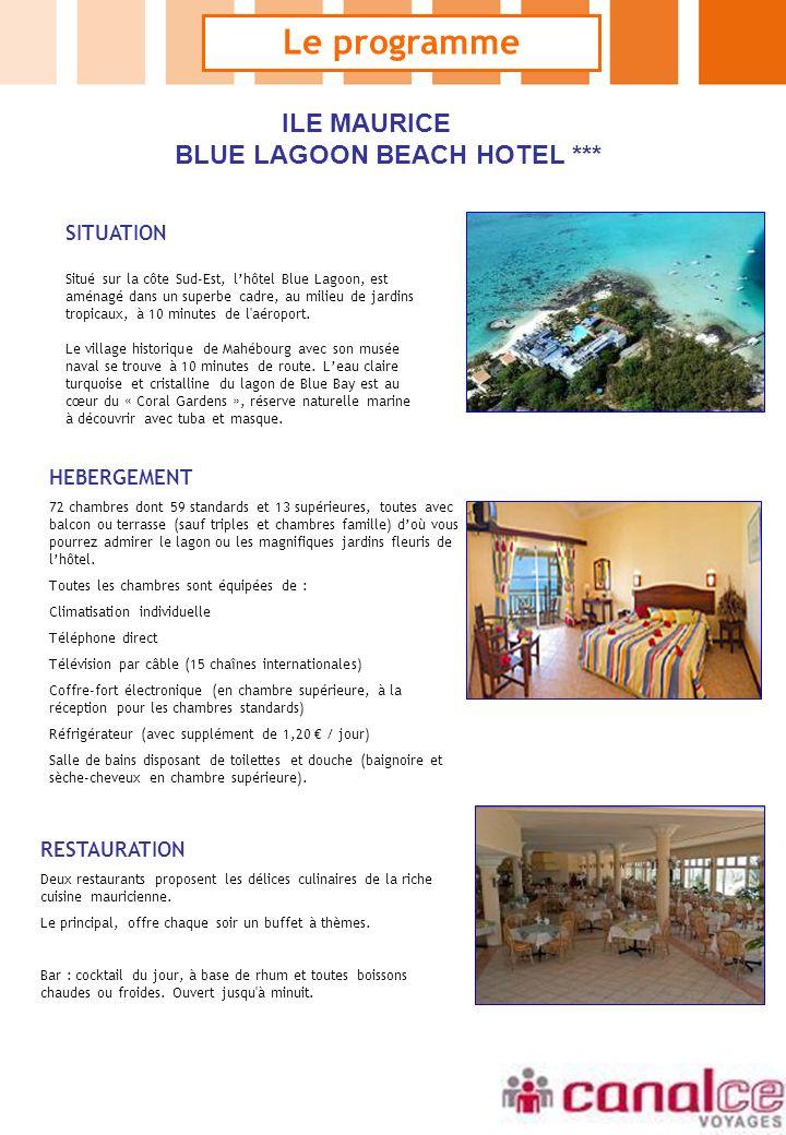 BLUE LAGOON BEACH HOTEL ***