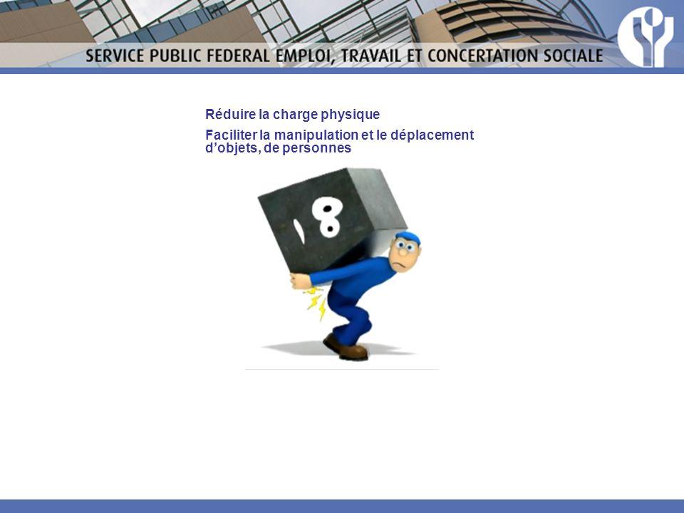 Réduire la charge physique