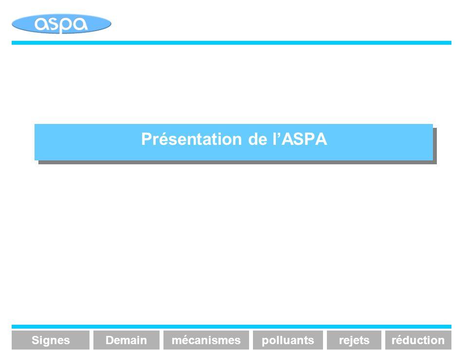 Présentation de l'ASPA