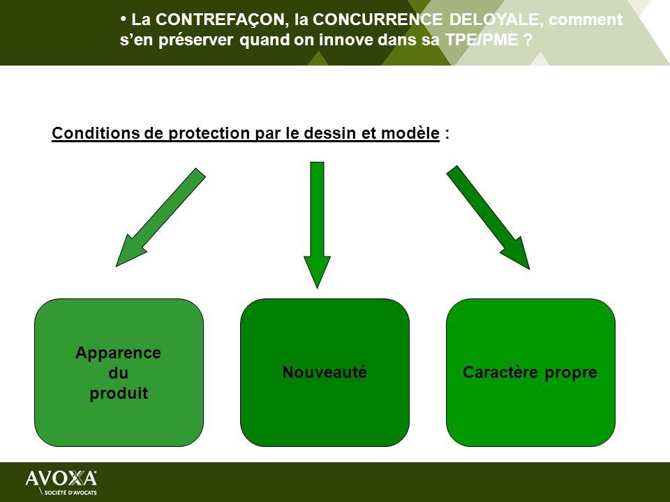 La CONTREFAÇON, la CONCURRENCE DELOYALE, comment s'en préserver quand on innove dans sa TPE/PME