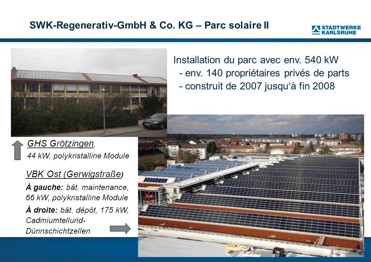 SWK-Regenerativ-GmbH & Co. KG – Parc solaire II