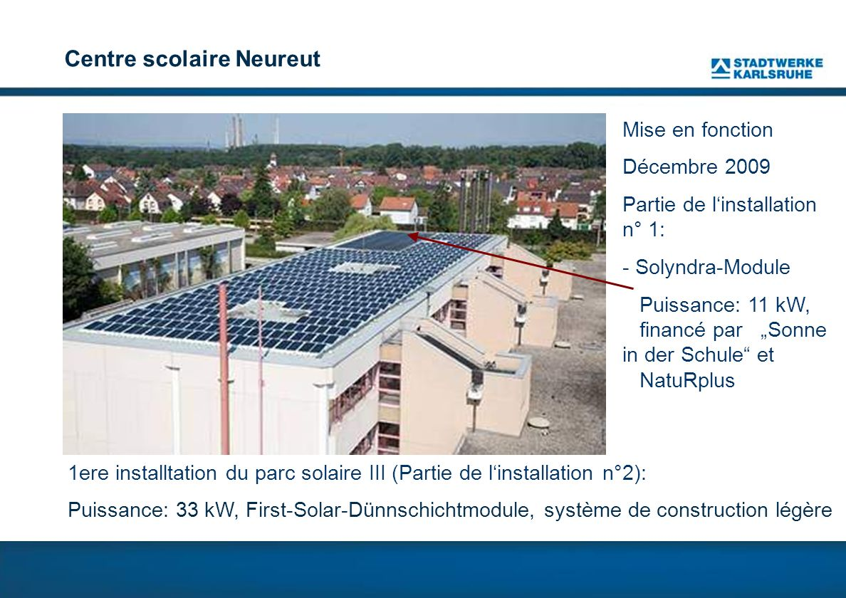 Centre scolaire Neureut