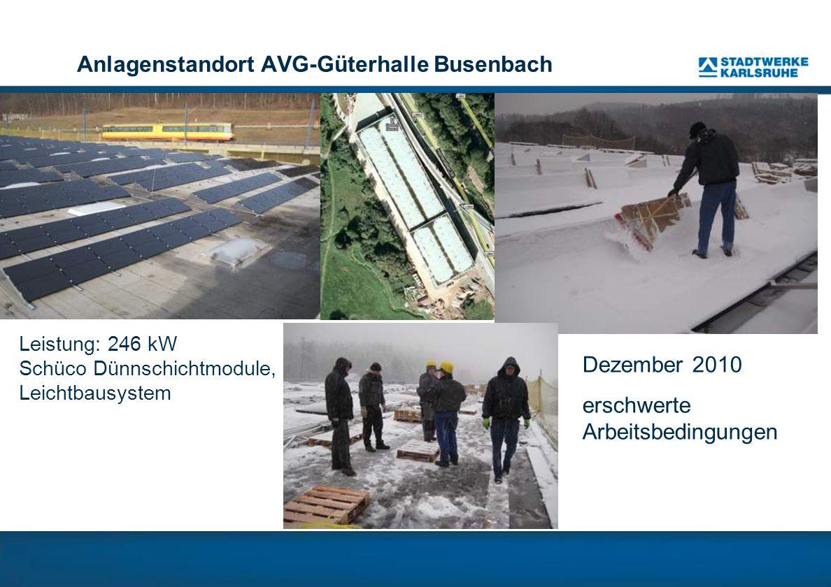 Anlagenstandort AVG-Güterhalle Busenbach