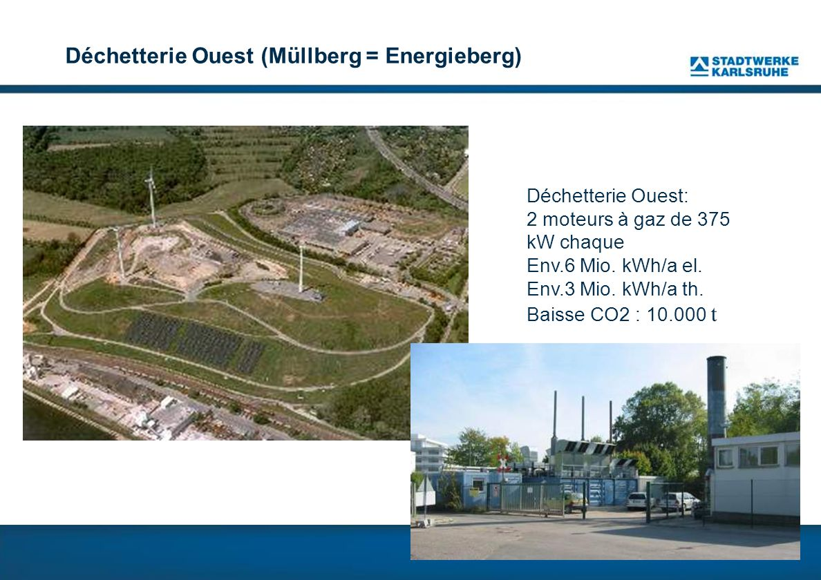 Déchetterie Ouest (Müllberg = Energieberg)