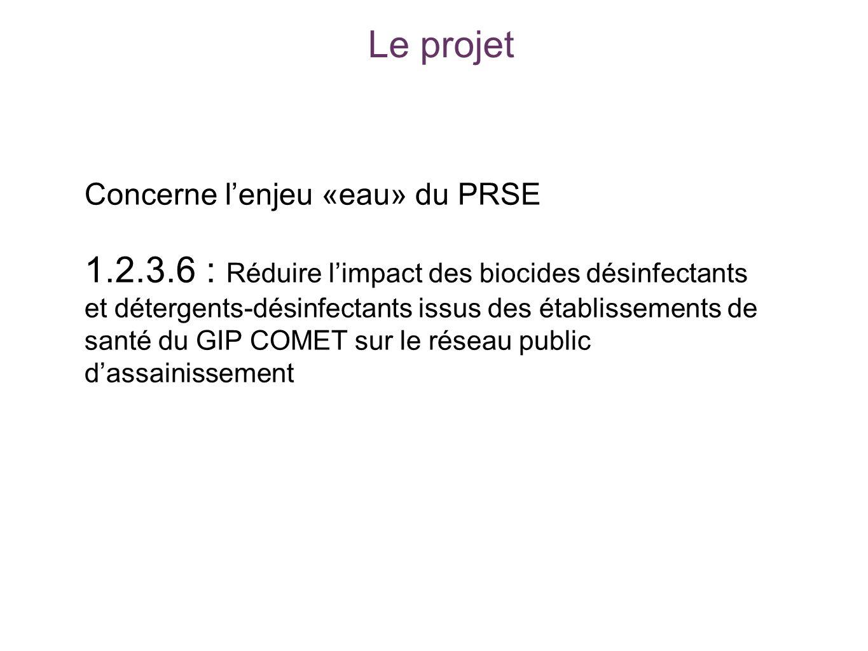 Le projet Concerne l'enjeu «eau» du PRSE.