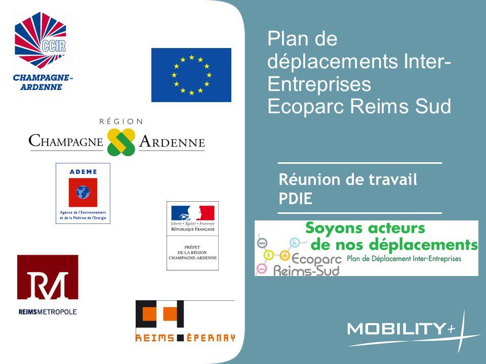 Plan de déplacements Inter-Entreprises Ecoparc Reims Sud