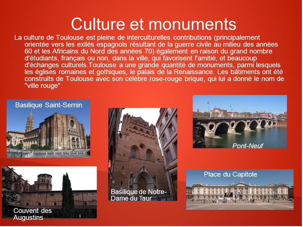 Culture et monuments