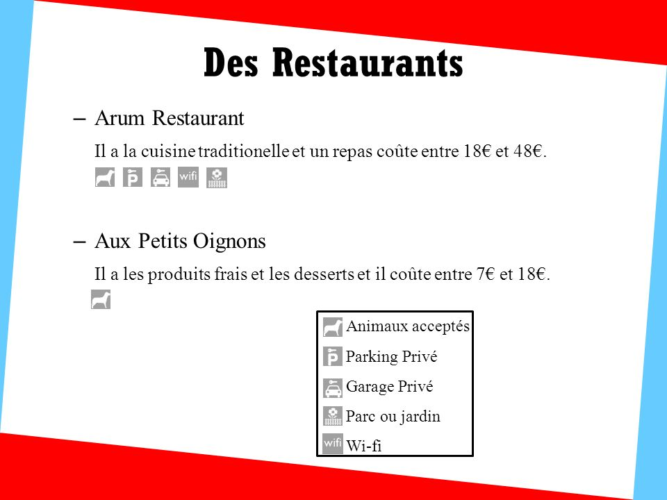 Des Restaurants Arum Restaurant