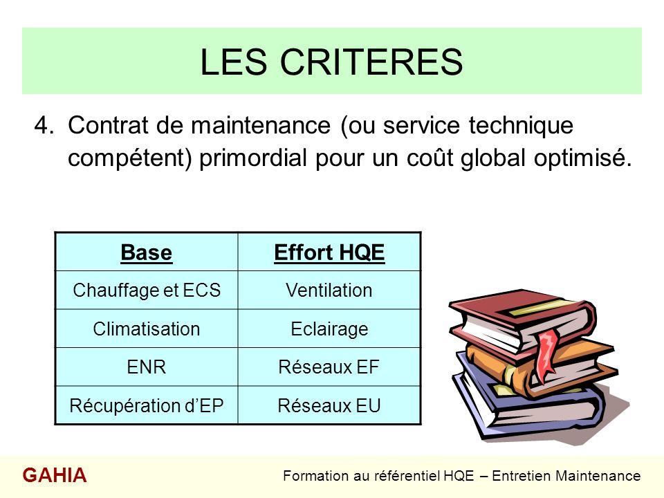 Formation au référentiel HQE – Entretien Maintenance