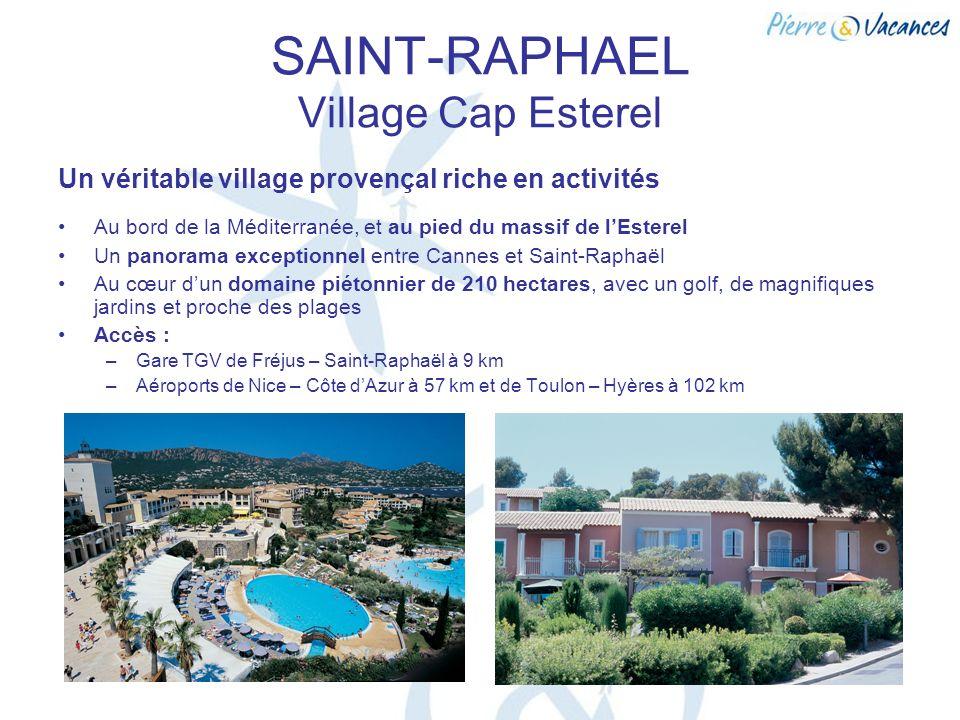 SAINT-RAPHAEL Village Cap Esterel