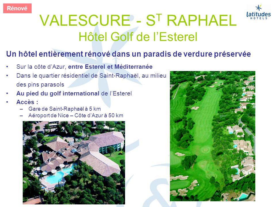 VALESCURE - ST RAPHAEL Hôtel Golf de l'Esterel