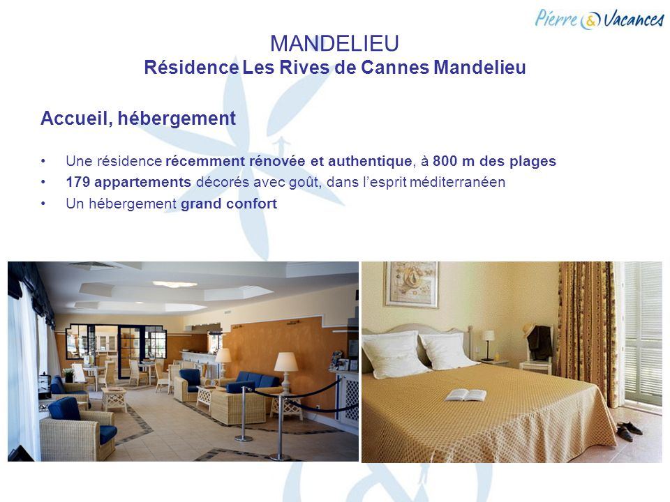 MANDELIEU Résidence Les Rives de Cannes Mandelieu