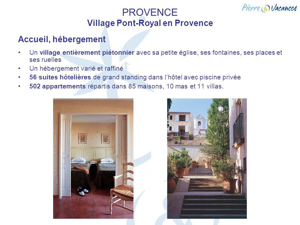 PROVENCE Village Pont-Royal en Provence