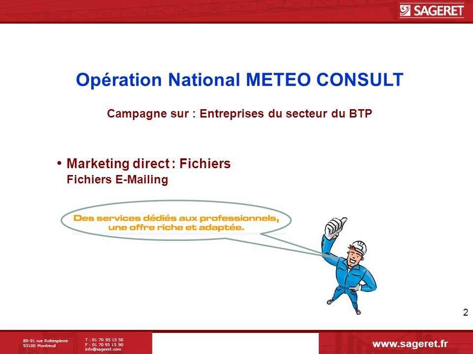 Opération National METEO CONSULT