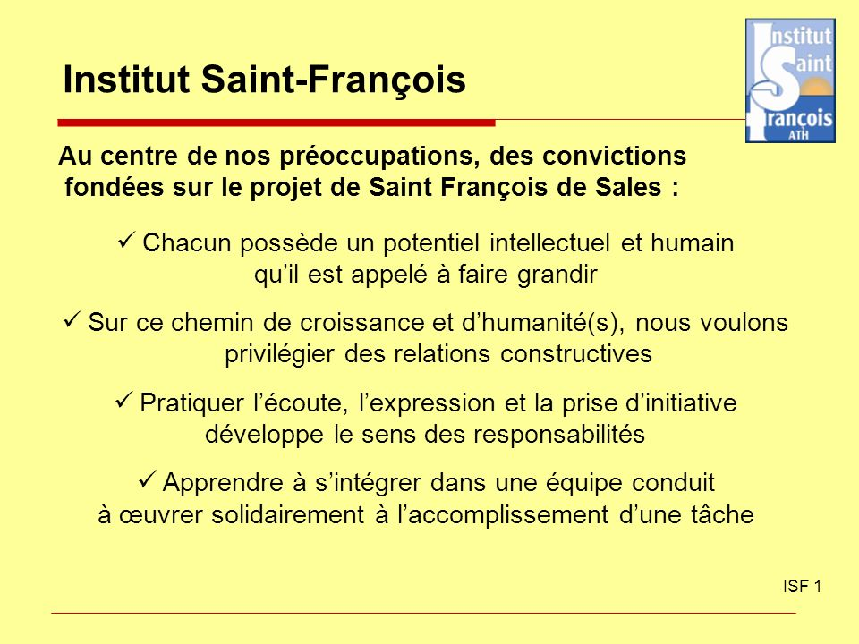 Institut Saint-François