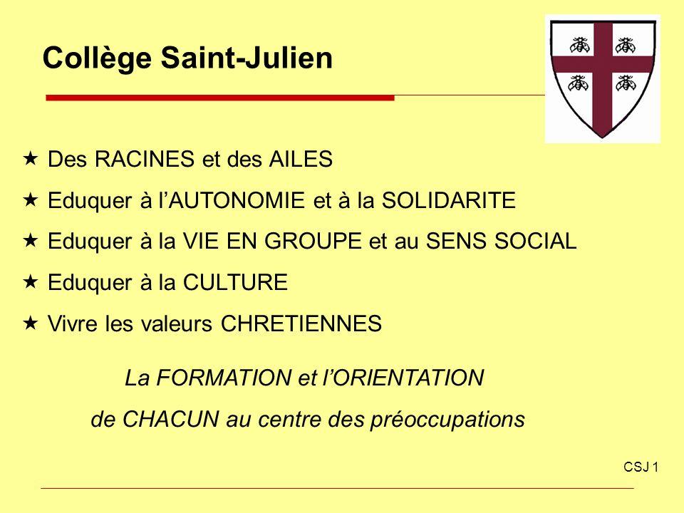 Collège Saint-Julien Des RACINES et des AILES