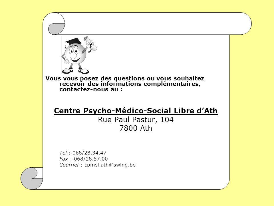 Centre Psycho-Médico-Social Libre d'Ath