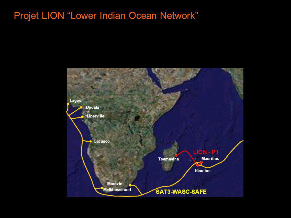 Projet LION Lower Indian Ocean Network