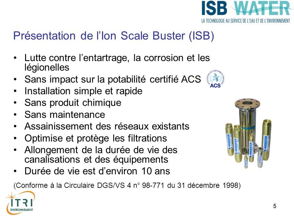 Présentation de l'Ion Scale Buster (ISB)
