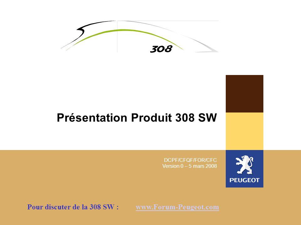 Présentation Produit 308 SW