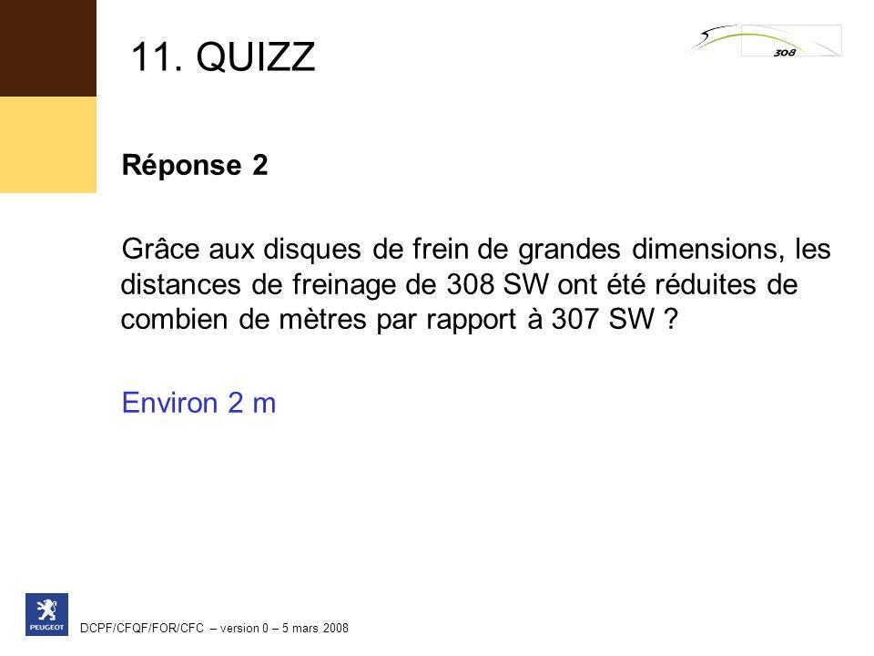 11. QUIZZ Réponse 2.