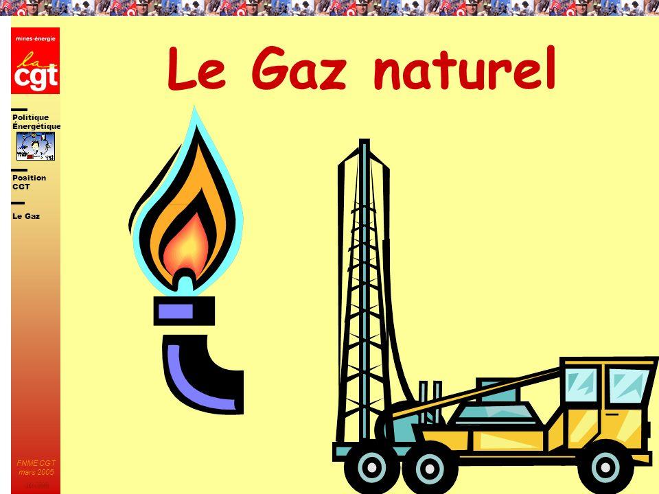 Le Gaz naturel Le Gaz