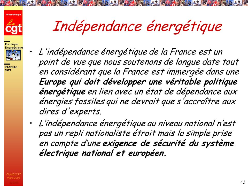 Indépendance énergétique