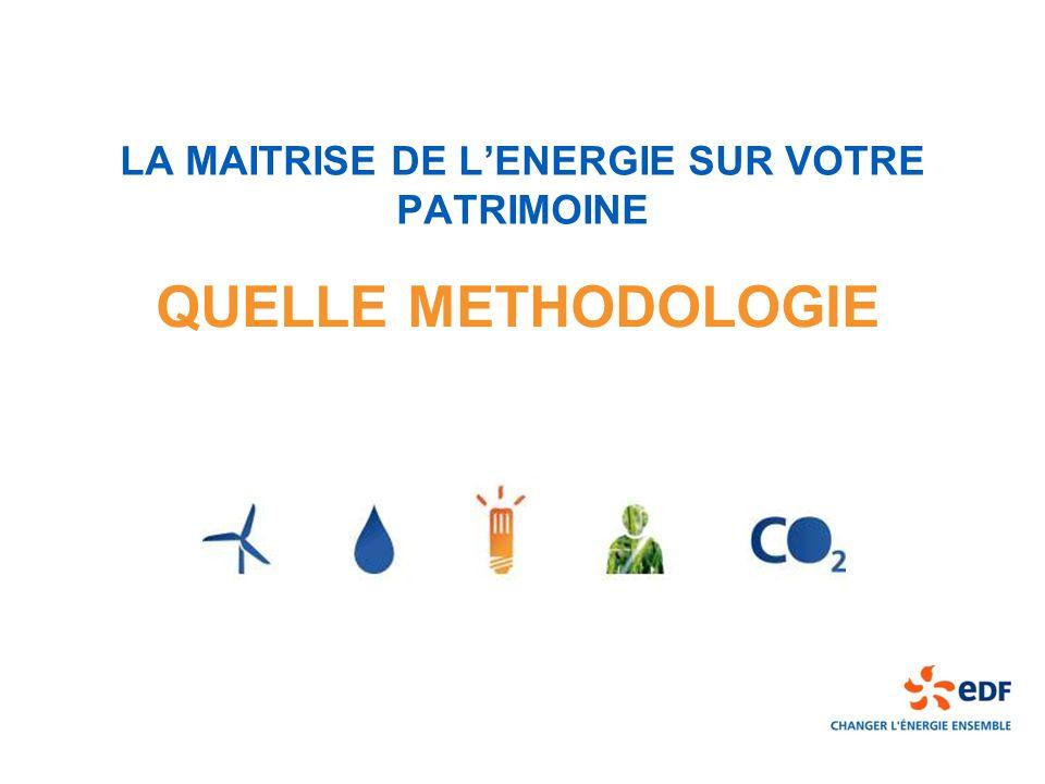 LA MAITRISE DE L'ENERGIE SUR VOTRE PATRIMOINE