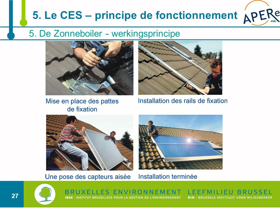 5. Le CES – principe de fonctionnement