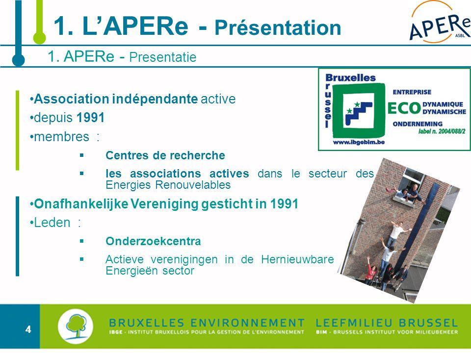1. L'APERe - Présentation