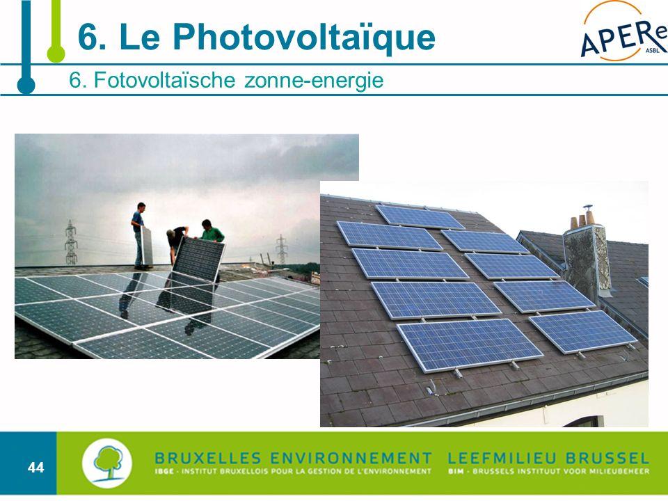 6. Fotovoltaïsche zonne-energie