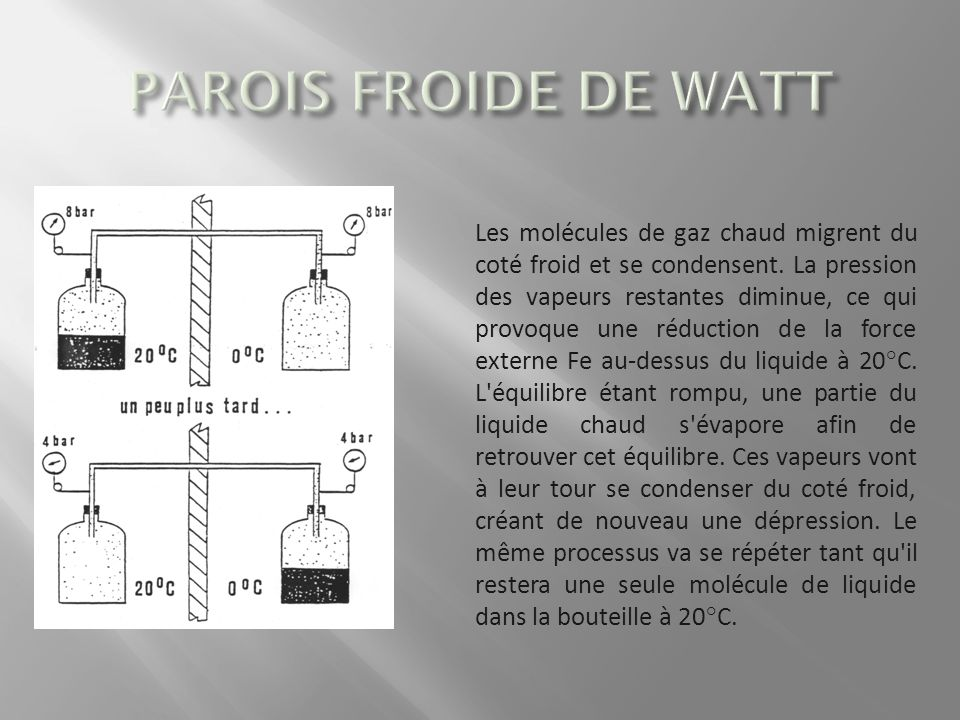 PAROIS FROIDE DE WATT