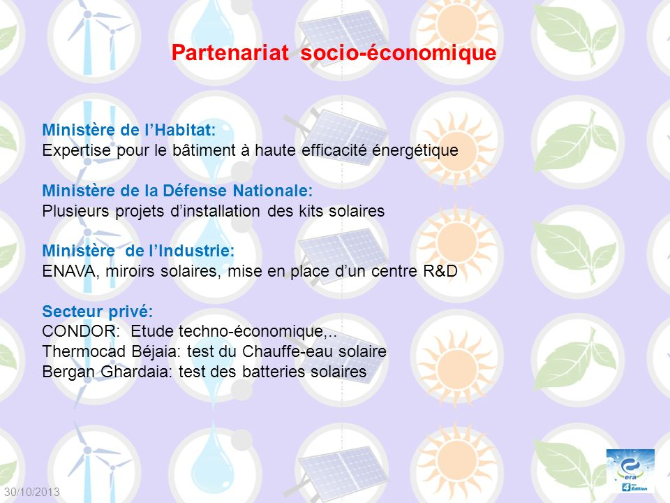 Partenariat socio-économique