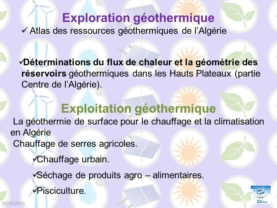 Exploration géothermique