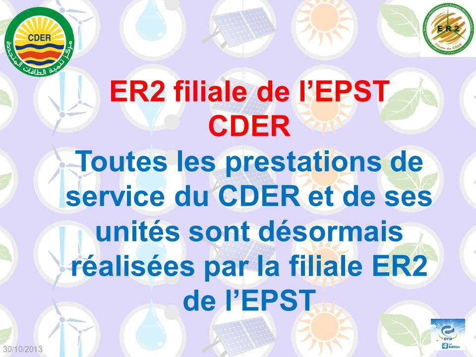 ER2 filiale de l'EPST CDER