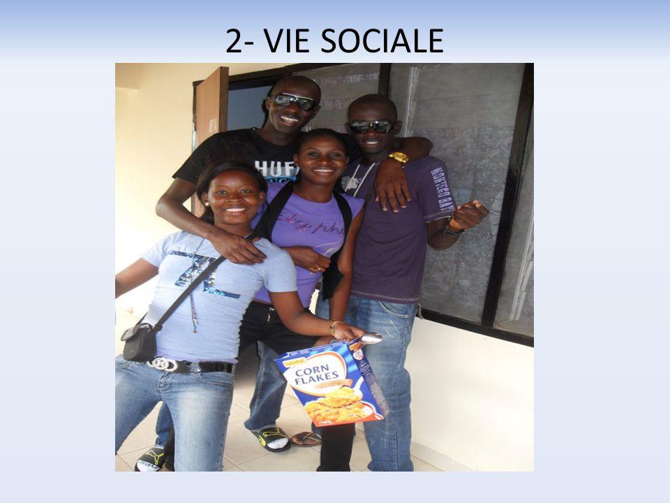 2- VIE SOCIALE