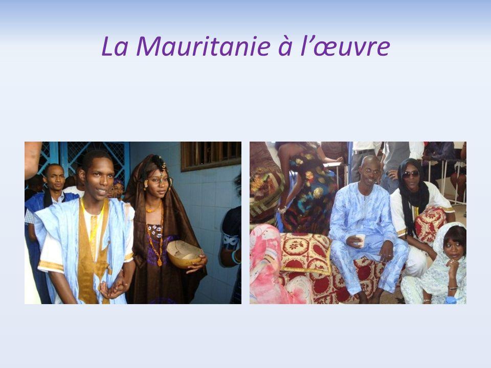 La Mauritanie à l'œuvre