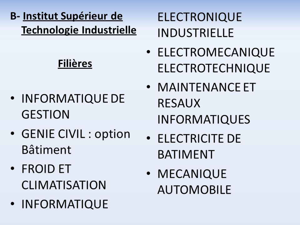 INFORMATIQUE ELECTRONIQUE INDUSTRIELLE