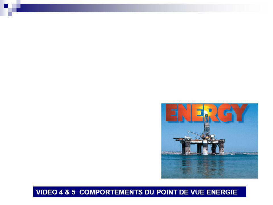 VIDEO 4 & 5 COMPORTEMENTS DU POINT DE VUE ENERGIE